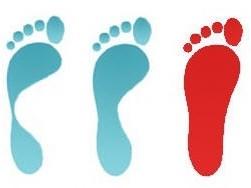 Отпечаток ноги
